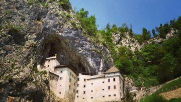 Predjama castle and Lipica stud farm